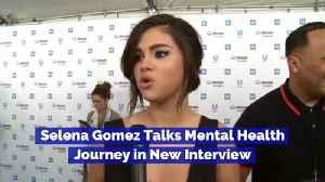 Selena Gomez Talks Mental Health Journey in New Interview [Video]