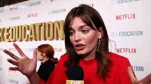 Emma Mackey interview on Sex Education season 2, female sexuality, Gillian Anderson [Video]