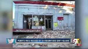Magnitude-5.8 earthquake strikes off the coast of Puerto Rico [Video]