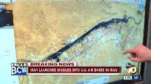 Iran launches missiles into U.S. air base in Iraq [Video]