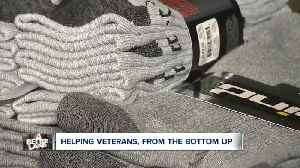 Local 'Socks 4 Soldiers' program helps veterans from the bottom up [Video]