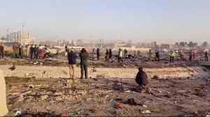 Ukrainian Plane Crashes In Iran, Killing All 176 On Board [Video]