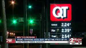 Rising tensions with Iran impacting price of oil [Video]