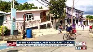 News video: Series of earthquakes rock Puerto Rico