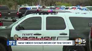 New video in deadly police shooting in Tempe [Video]