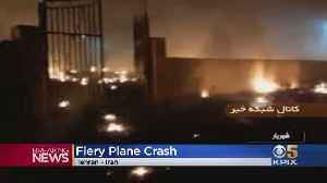 176 Dead As Ukranian Plane Crashes In Iran [Video]