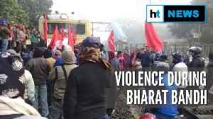 Bharat Bandh: TMC & SFI clash; vandalisation in parts of West Bengal [Video]