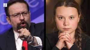 Sebastian Gorka's Crude Joke About Greta Thunberg [Video]