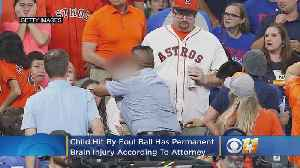 Child Hit By Foul Ball During Astros Game Has 'Permanent' Brain Injury, Attorney Says [Video]