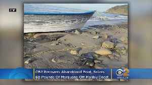 CBP Recovers Abandoned Boat, Seizes $24K Of Marijuana Off Malibu Coast [Video]