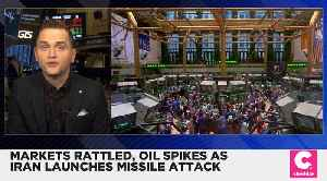 Markets Slip After Iran's Missile Attack [Video]