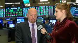 News video: How Resilient Is This Market? Jim Cramer on the Iran Missile Attacks, Oil and Retail