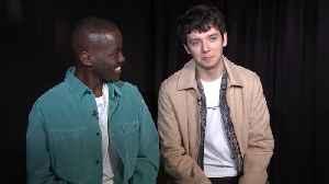 Cast Talk 'Sex Education' Season 2 [Video]