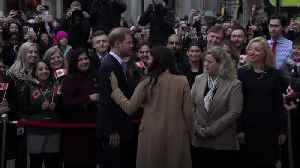 News video: Harry and Meghan's shock announcement comes after a difficult year