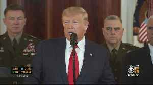 President Announces Economic Sanctions Against Iran, De-Escalating Tensions [Video]