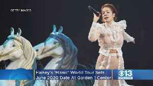 Halsey's 'Manic' World Tour Sets June 2020 Date At Golden 1 Center In Sacramento [Video]