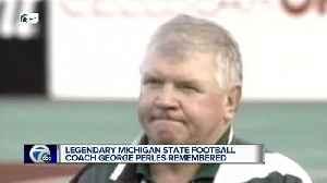 News video: Former MSU football coach & trustee George Perles dies at the age of 85