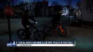 Cedarburg mountain bike club hits trails in the cold [Video]
