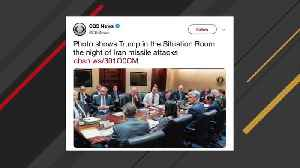 Internet Reacts To White House's Situation Room Photo After Iran Missile Attacks [Video]