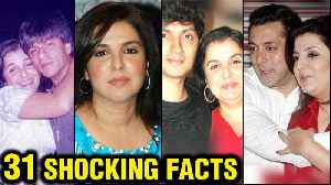 Farah Khan 31 SHOCKING And INTERESTING Facts   Shirish Kunder, Shah Rukh Khan [Video]
