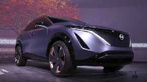 Nissan Ariya Concept at CES 2020 [Video]
