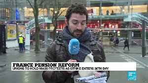 France pension reform: Country braces for major rallies, more transport disruptions [Video]