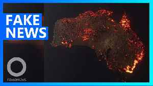 Misleading images of Aussie fires make their way to social media [Video]