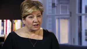 Emily Thornberry rates Jeremy Corbyn's leadership [Video]