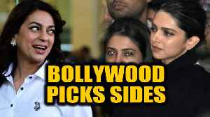JNU, Anti-CAA protests divide Bollywood, celebrities pick sides |  OneIndia News [Video]