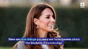 Happy Birthday, Kate Middleton! [Video]