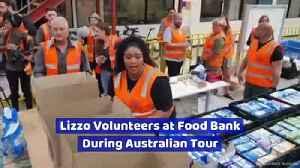 Lizzo Volunteers at Food Bank During Australian Tour [Video]
