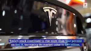 Tesla Becomes Highest-Valued US Automaker in History [Video]