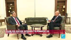 """I was scared to stay in Japan"", says Carlos Ghosn on France 24 [Video]"