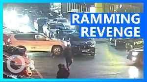 Chinese woman rams into illegally parked car eleven times [Video]