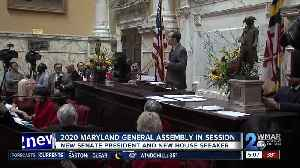 2020 Maryland General Assembly in session [Video]