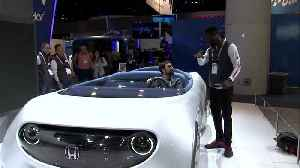 Concept cars unveiled at CES aim to be 'extension of driver' [Video]