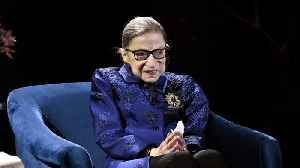 Justice Ruth Bader Ginsburg Says She's 'Cancer-Free' For The New Year [Video]