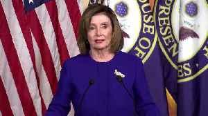 Pelosi will send impeachment articles 'when I'm ready' [Video]