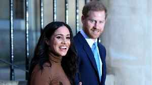 News video: Prince Harry, Meghan Markle Want To Be 'Financially Independent'