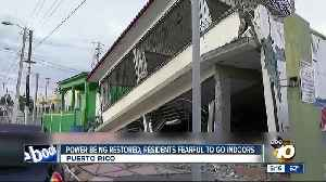 News video: Power being restored after Puerto Rico earthquake