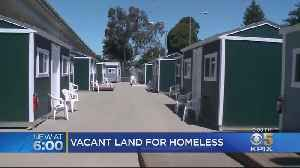 Governor Newsom Orders Agencies To Find State Land To Use For Temporary Homeless Shelters [Video]