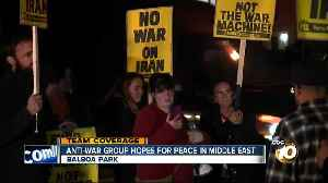 News video: Local anti-war group hopes for peace in the middle east
