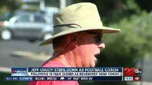 Jeff Chudy announces retirement as Bakersfield College head football coach [Video]