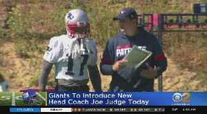 Giants To Introduce New Coach Today [Video]