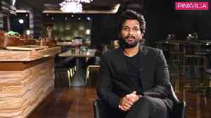 Allu Arjun on Ranveer Singh, Vijay Deverakonda's style [Video]
