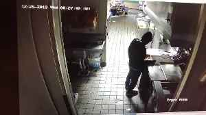 News video: Man broke into Taco Bell, made food and took nap, police say