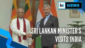 Sri Lankan Foreign Minister on 2-day visit to India, meets EAM Jaishankar [Video]