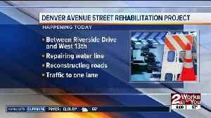 Denver Avenue street rehabilitation project [Video]