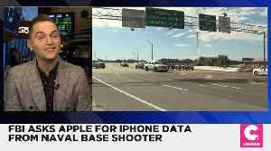 FBI Asks Apple for More iPhone Data From Naval Base Shooter [Video]