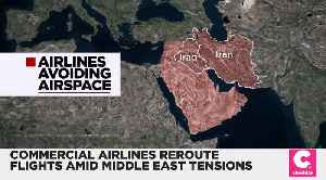 Commercial Airlines Reroute Flights to Avoid Middle East Danger Zones [Video]